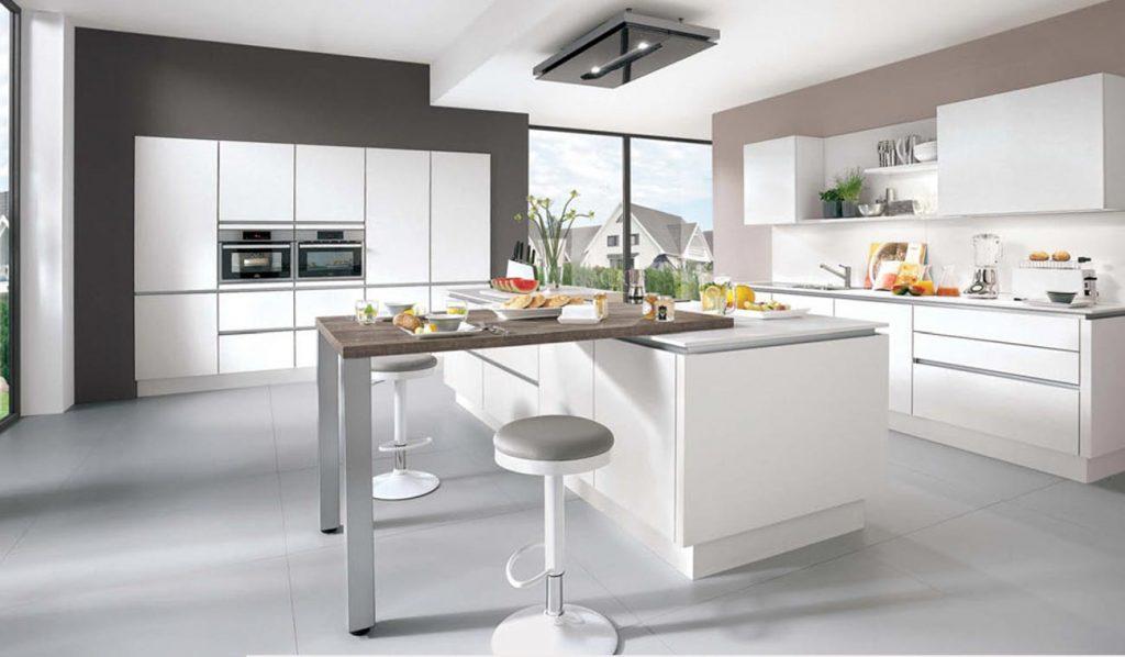 Cocina moderna Laser Blanco